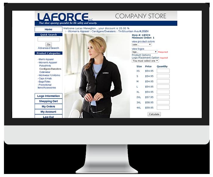 Laforce Ecommerce store