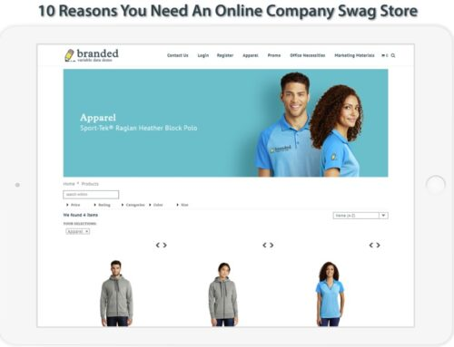 10 Reasons You Need an Online Company Swag Store